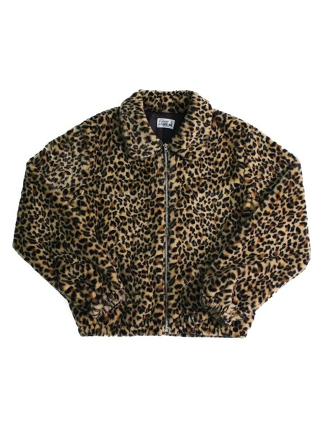 FUR JACKET / LEOPARD